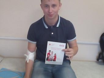 Рубрика выездная деятельность: Студенты и преподаватели КузГТУ приняли участие в акции «День донора»