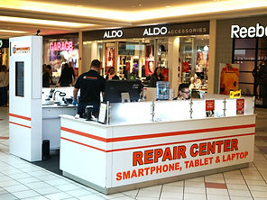 Kiosk at Cape Cod Mall for Mobile Phone Repair