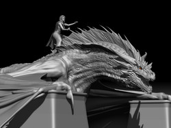 Drogon & Dany | Model