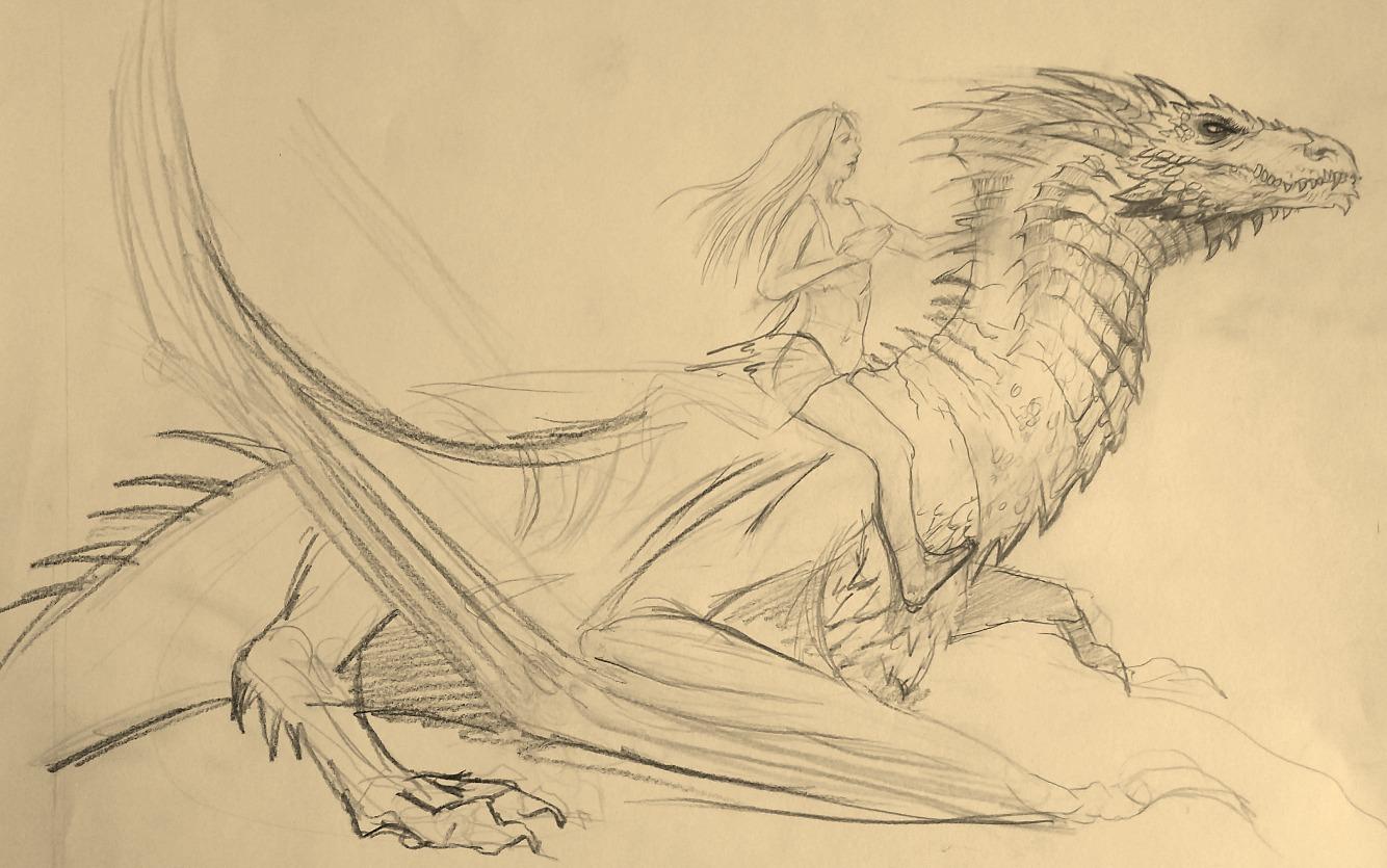 Drogon & Dany | Sketch