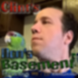 Clint Hancock, of Clint's Mom's Basemet, and his bird, Henry. Catch new episodes every Thursday at 7PM / CST at http://www.radioluv.com/clints-moms-basement