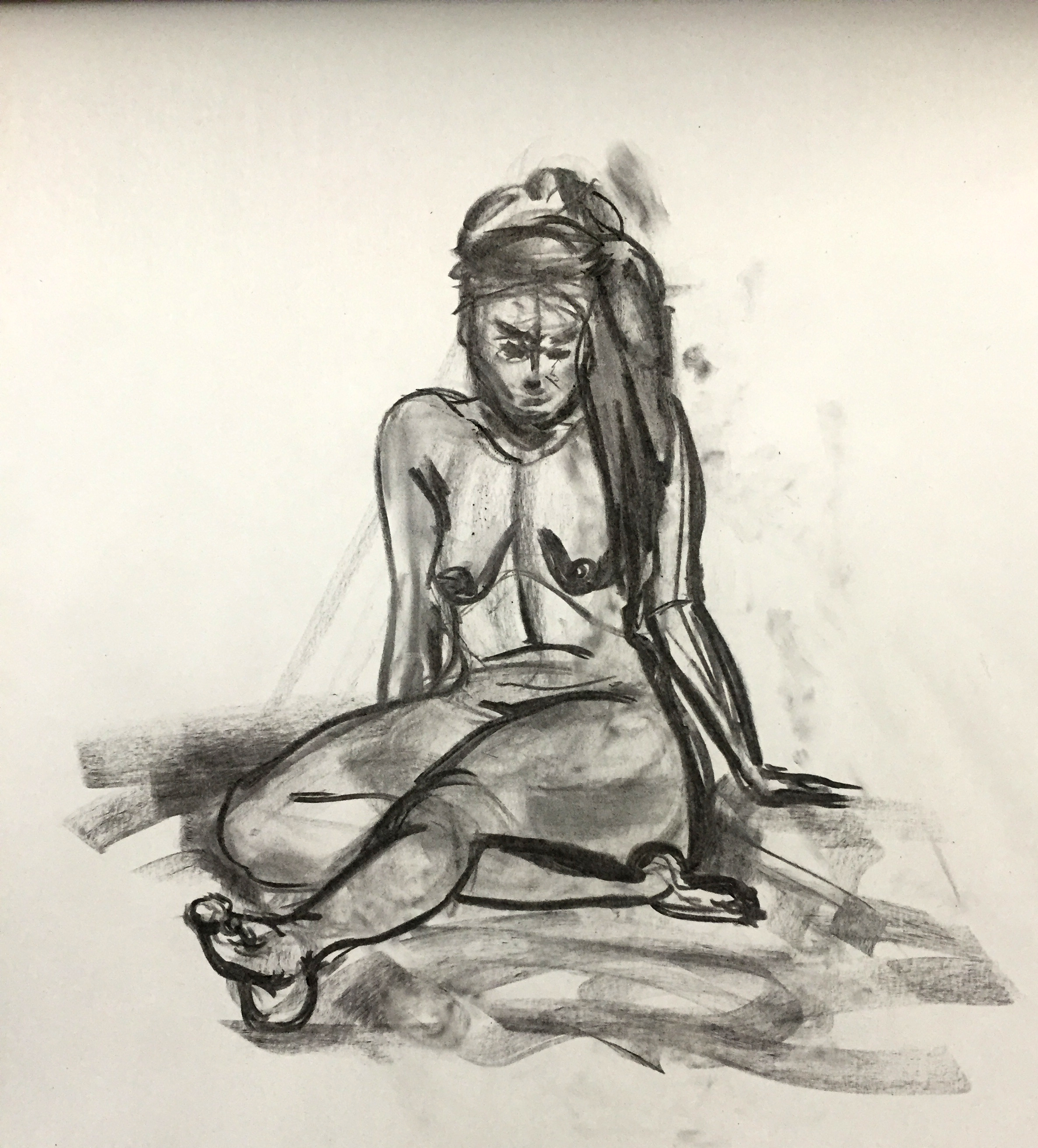 Drawing Woman no.5