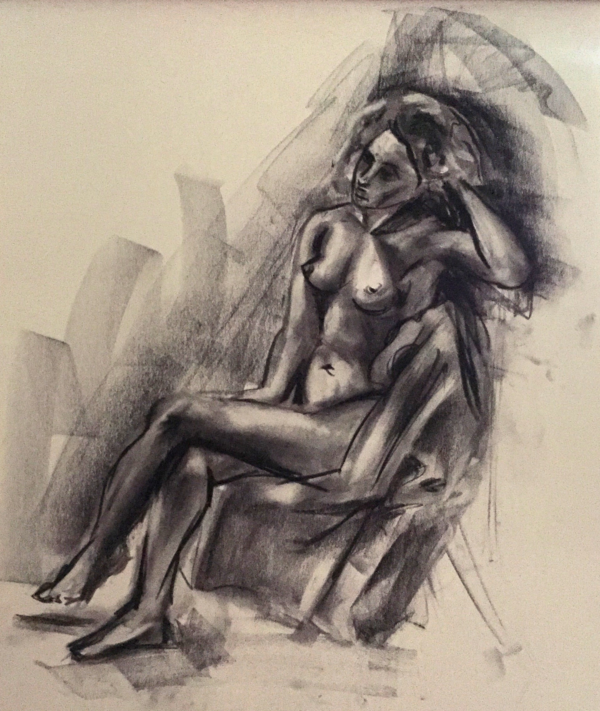 Drawing Woman no.4