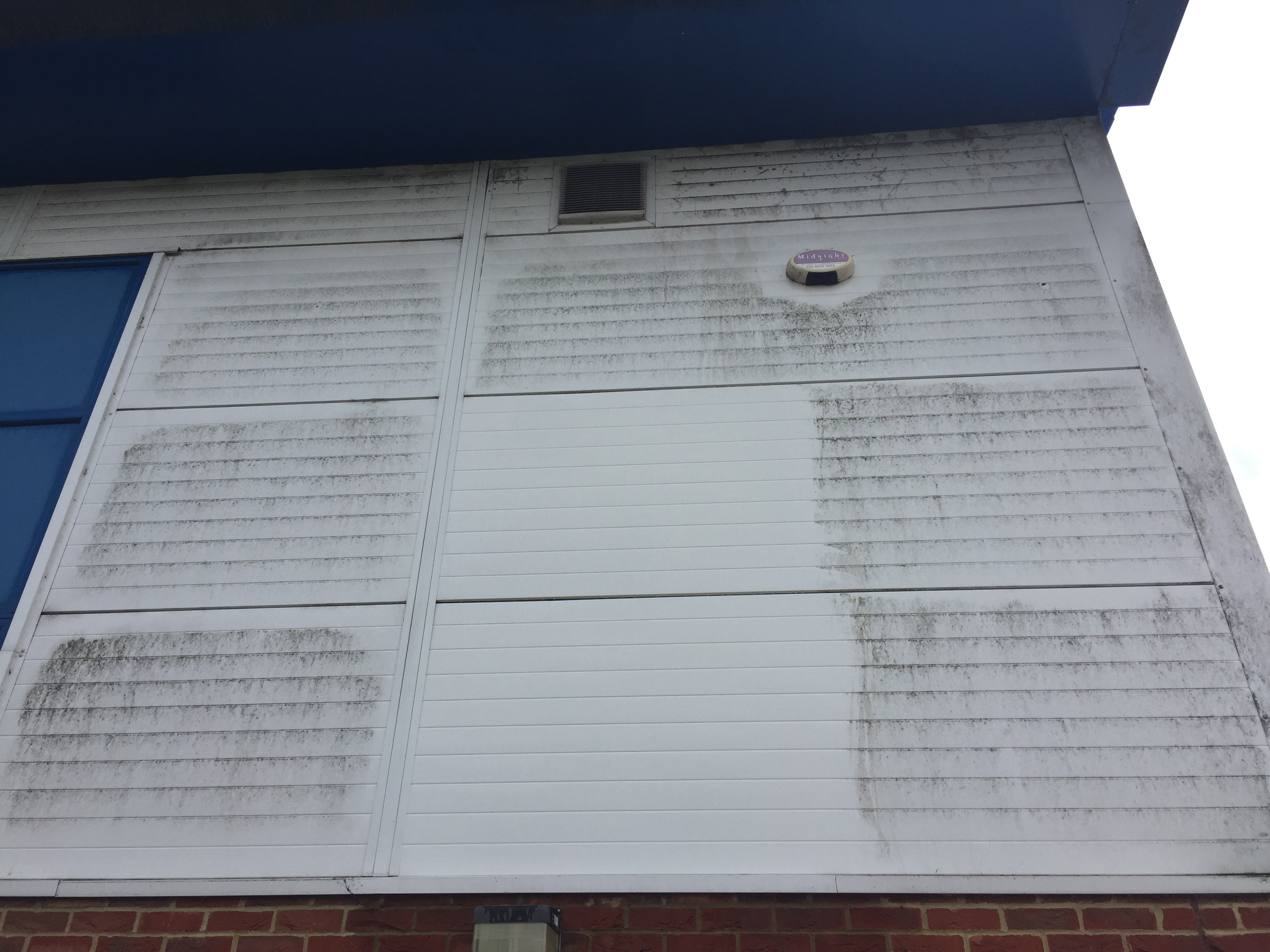 Cladding cleaning Slough
