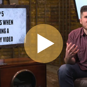 Top 5 Mistakes When Creating a Company Video