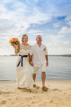 Beach - Family, Bride & groom-17