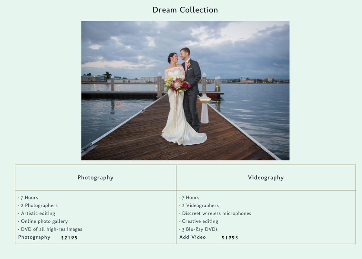 Wedding Package Dream