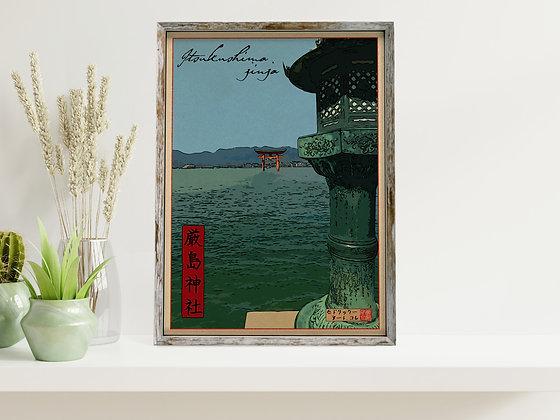 """Affiche """"Itsukujima"""""""