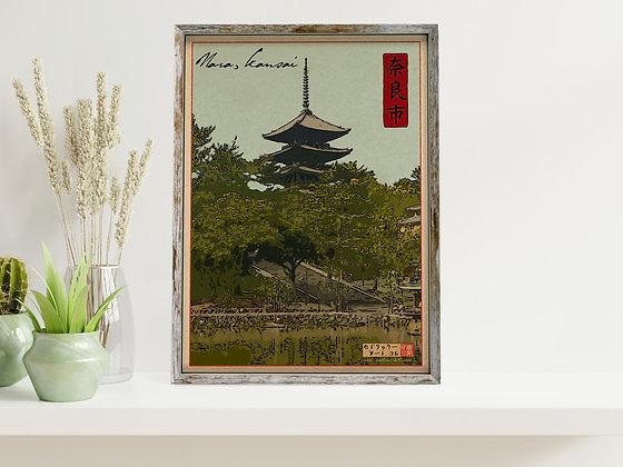 """Affiche """"Nara"""""""