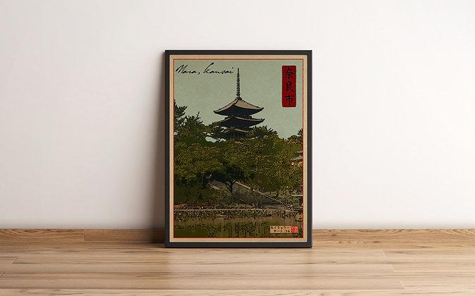 """Illustration """"Nara"""""""