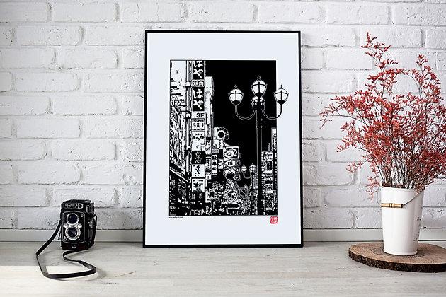 """Affiche """"Osaka"""""""