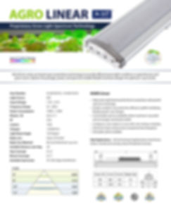 Agro Linear 150W LED Grow Light