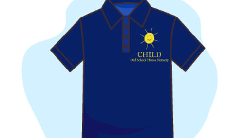POLO NECK T-SHIRT WITH LOGO