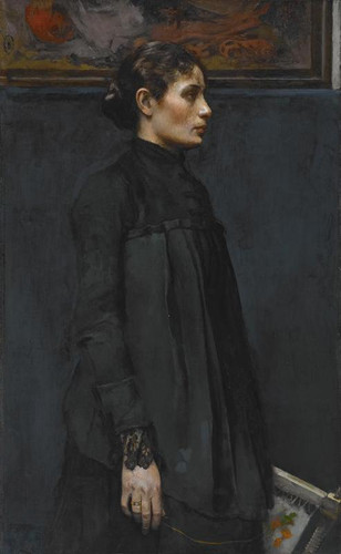 The Embroideress [Portrait of Mrs. Hitchcock]