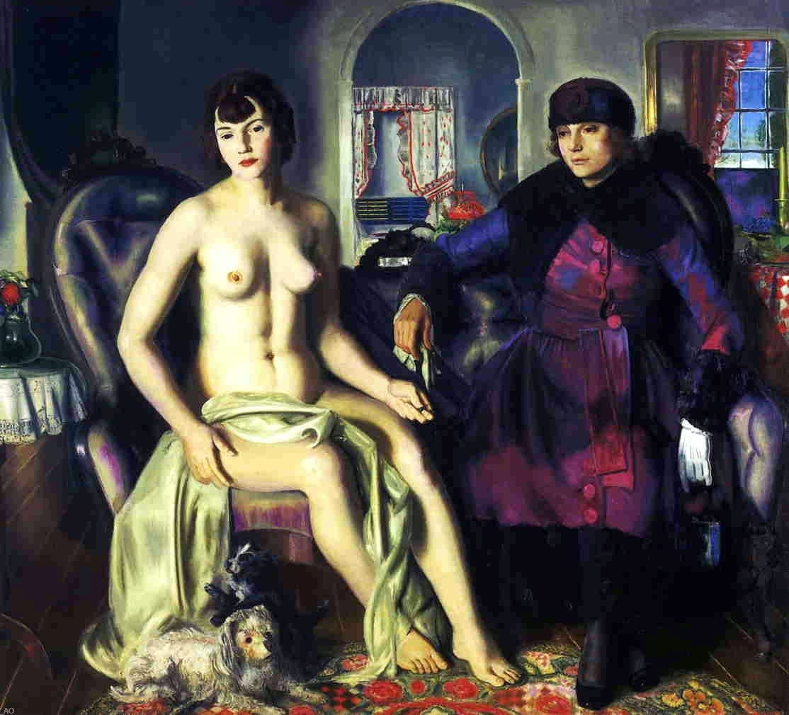 Two Women, 1924