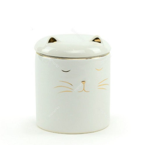 Pote de cerâmica gatinho