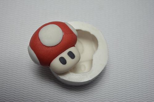 Molde de silicone cogumelo Toad