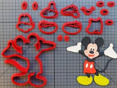 Cortador Mickey Mouse