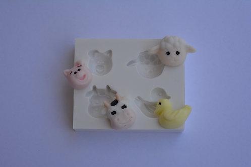 Kit miniaturas  fazendinha
