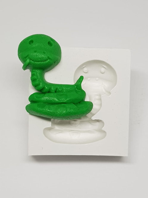 Molde de silicone cobra ( Pequeno príncipe)