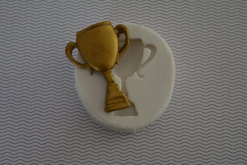 Molde de silicone trofeu