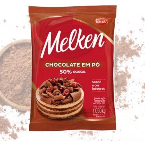 Chocolate em pó 50% cacau Melken