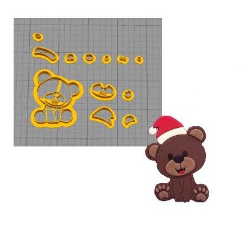 Cortador Modular Ursinho Natal