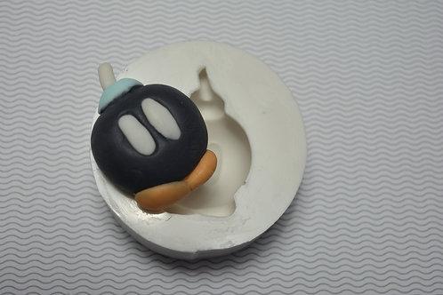 Molde de silicone bomba (Mario Bros)