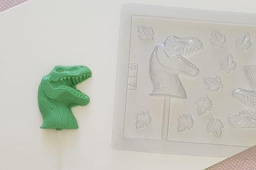 Forma de pirulito dinossauro