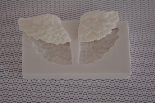 Molde de silicone asa de anjo