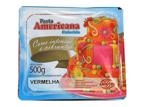 Pasta americana Arcolor Vermelha