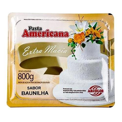 Pasta americana Arcolor sabor Baunilha