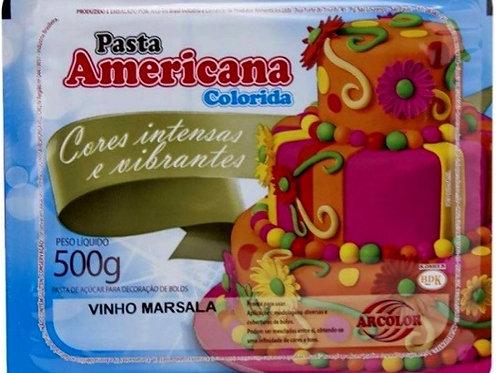 Pasta americana Vinho Marsala