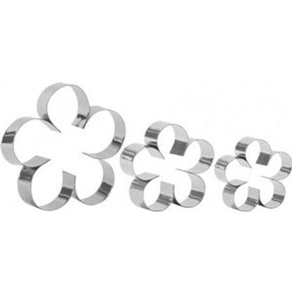 Jogo de cortadores de flores