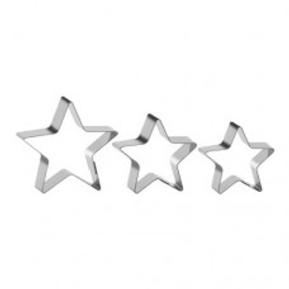 Jogo de cortadores de estrelas