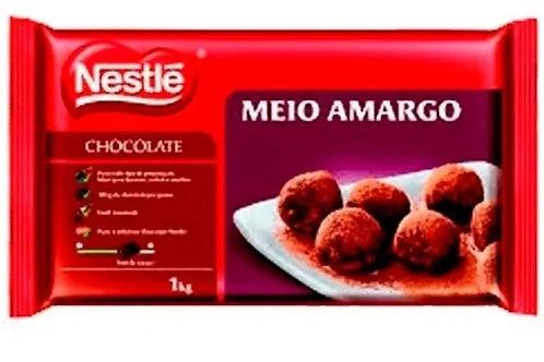 Chocolate Nestlé Meio Amargo