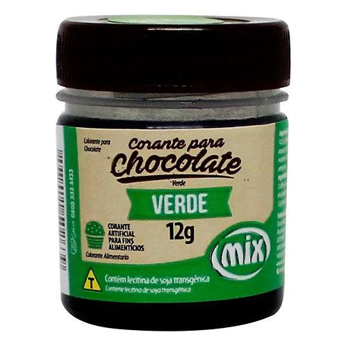 Corante para chocolate verde Mix