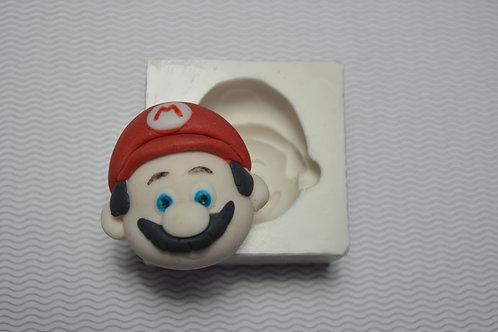 Molde de silicone Mario Bros
