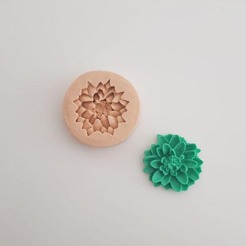 Molde de silicone suculenta 02