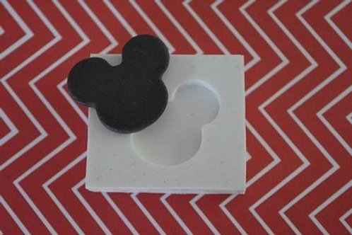 Molde de silicone Mickey