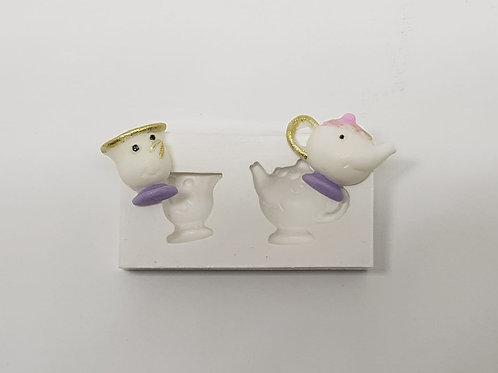 Jogo de chá (A Bela e a Fera)