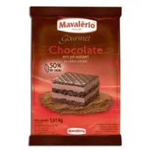 Chocolate em pó 50% cacau Mavalerio