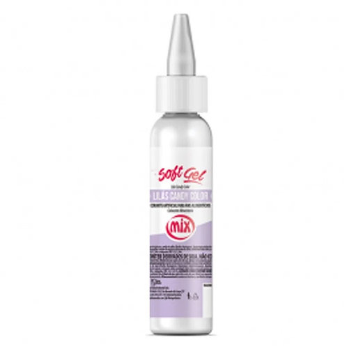 Corante soft gel lilas candy color 25g Mix