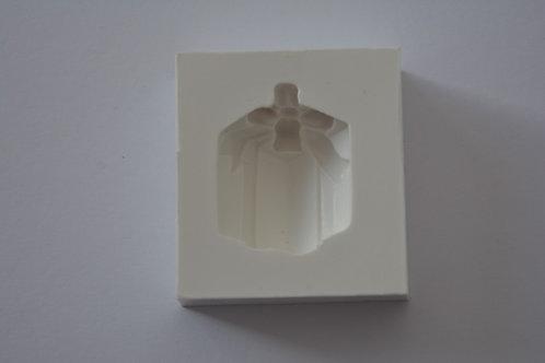 Molde de silicone presente de natal