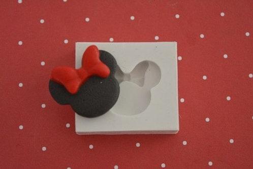 Molde de silicone Minnie