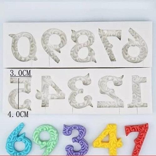 Números com arabescos