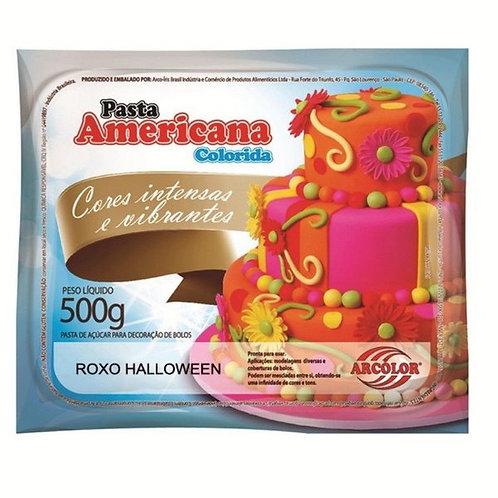 Pasta americana Arcolor roxo halloween