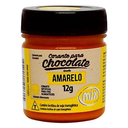 Corante para chocolate amarelo Mix