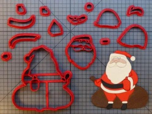 Cortador Modular Papai Noel Corpo Inteiro