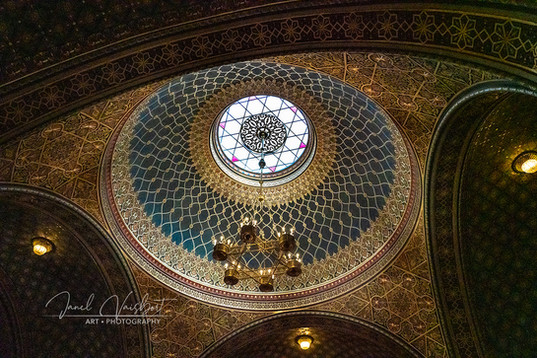 DOME OF SPANISH SYNAGOGUE